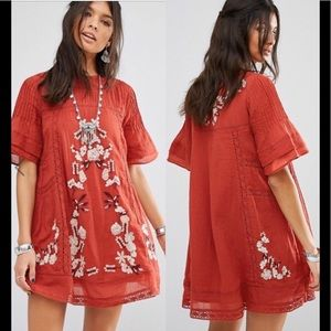 Free People Perfectly Victorian Mini Dress | S ✨